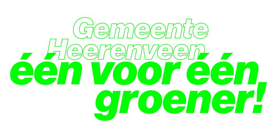 Logo één voor één groener