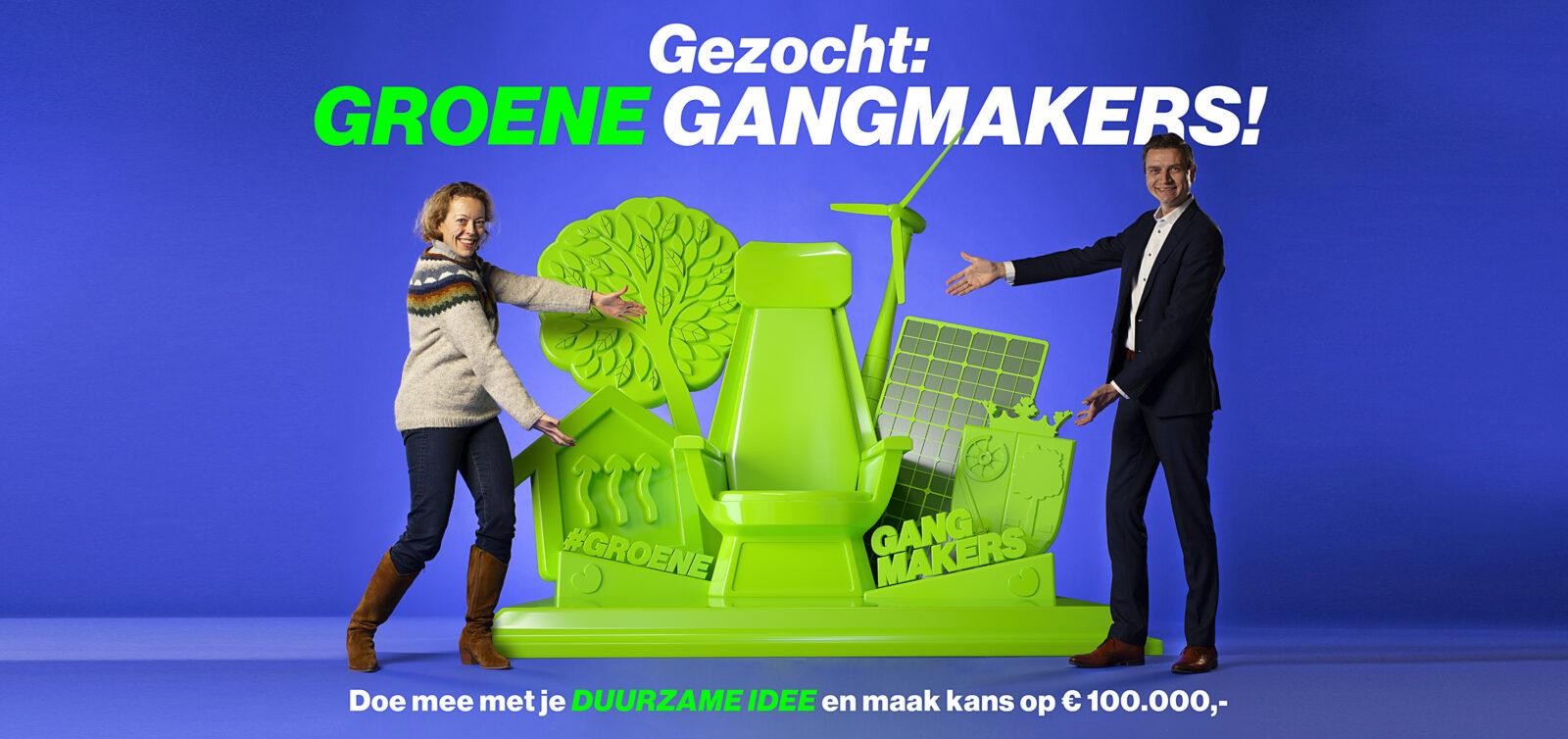 Troon voor groene gangmakers