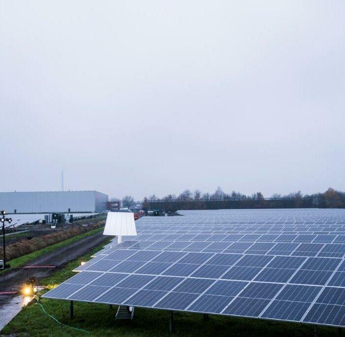 Opening Shell zonnepark